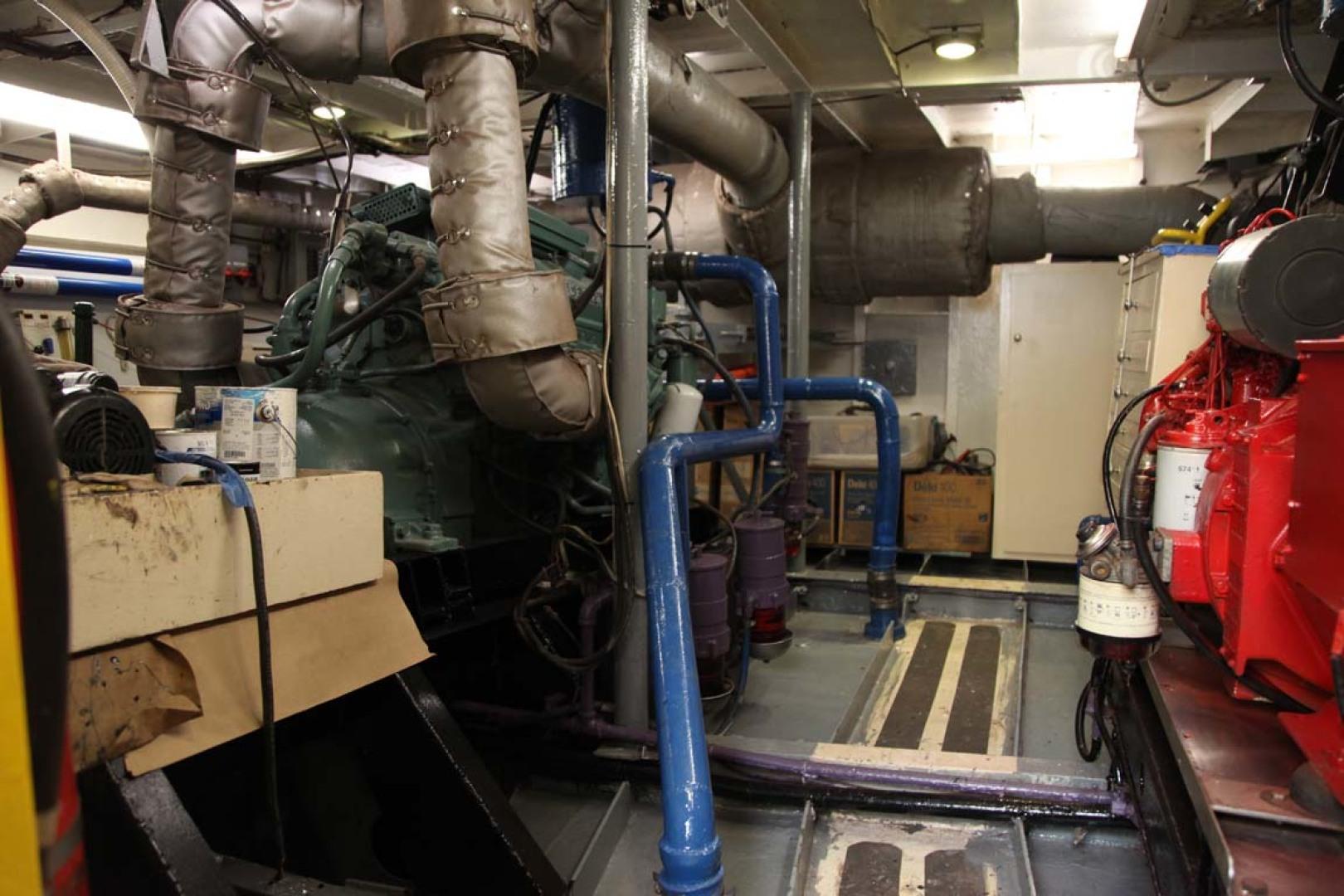 Custom-Blount Marine Research Vessel 1966-Observer Port Angeles-Washington-United States-Engine Room-1190716   Thumbnail