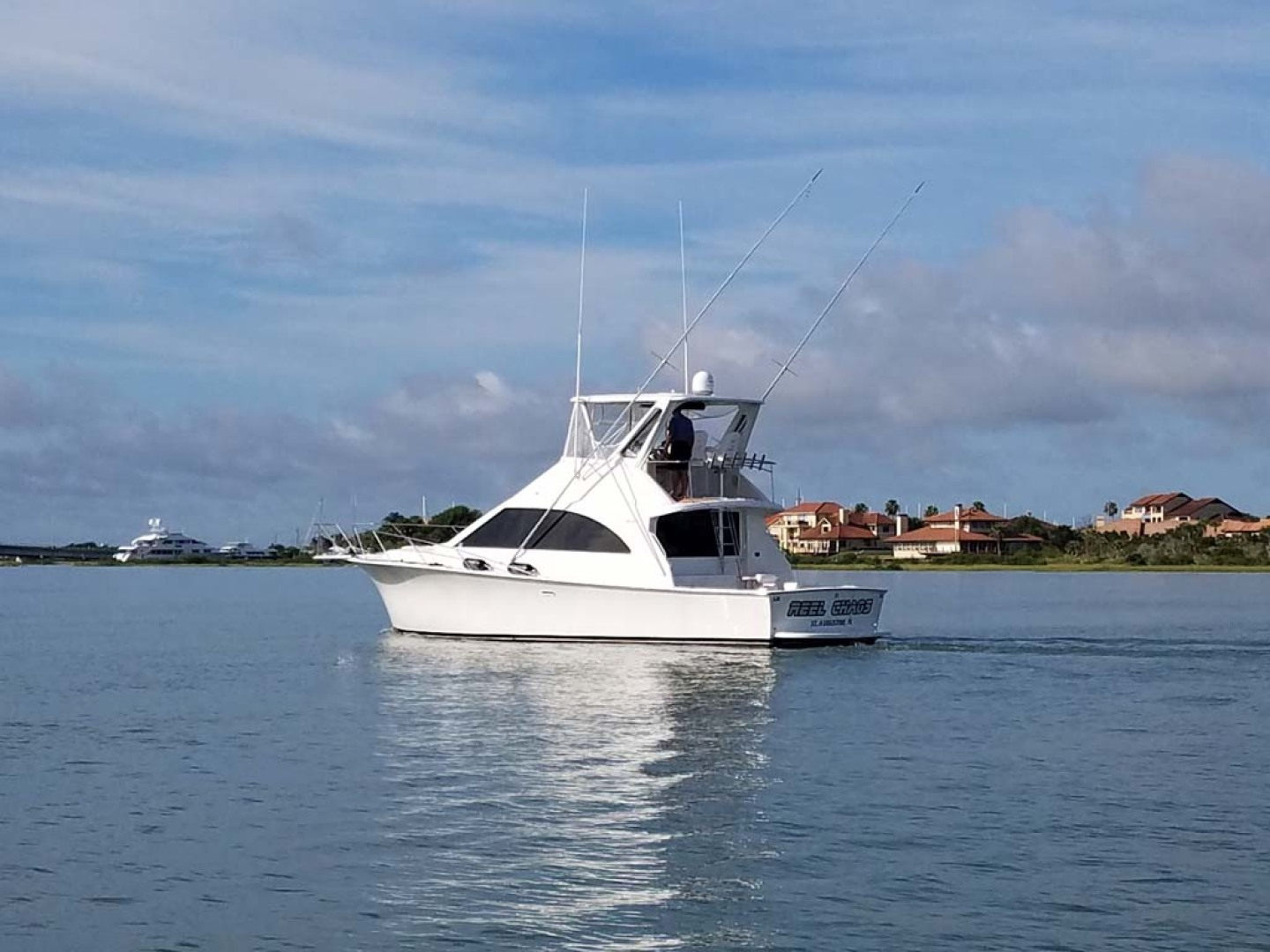 Ocean Yachts-Super Sport 1991-Reel Chaos St. Augustine-Florida-United States-Starboard Aft View-1196532 | Thumbnail