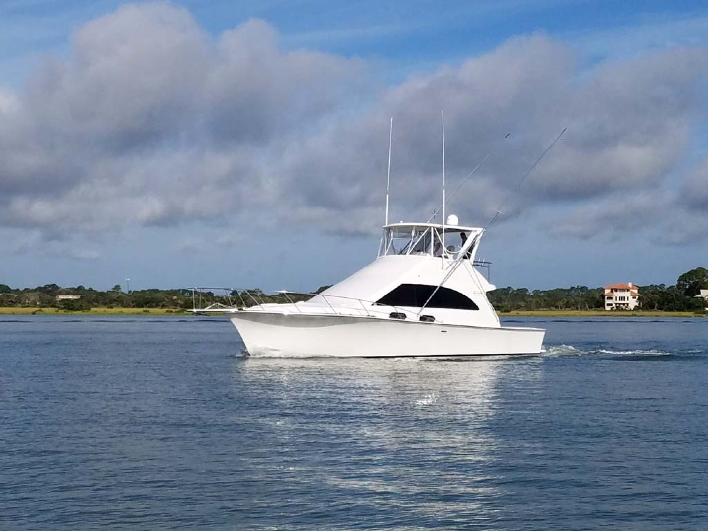 Ocean Yachts-Super Sport 1991-Reel Chaos St. Augustine-Florida-United States-Profile-1196530 | Thumbnail