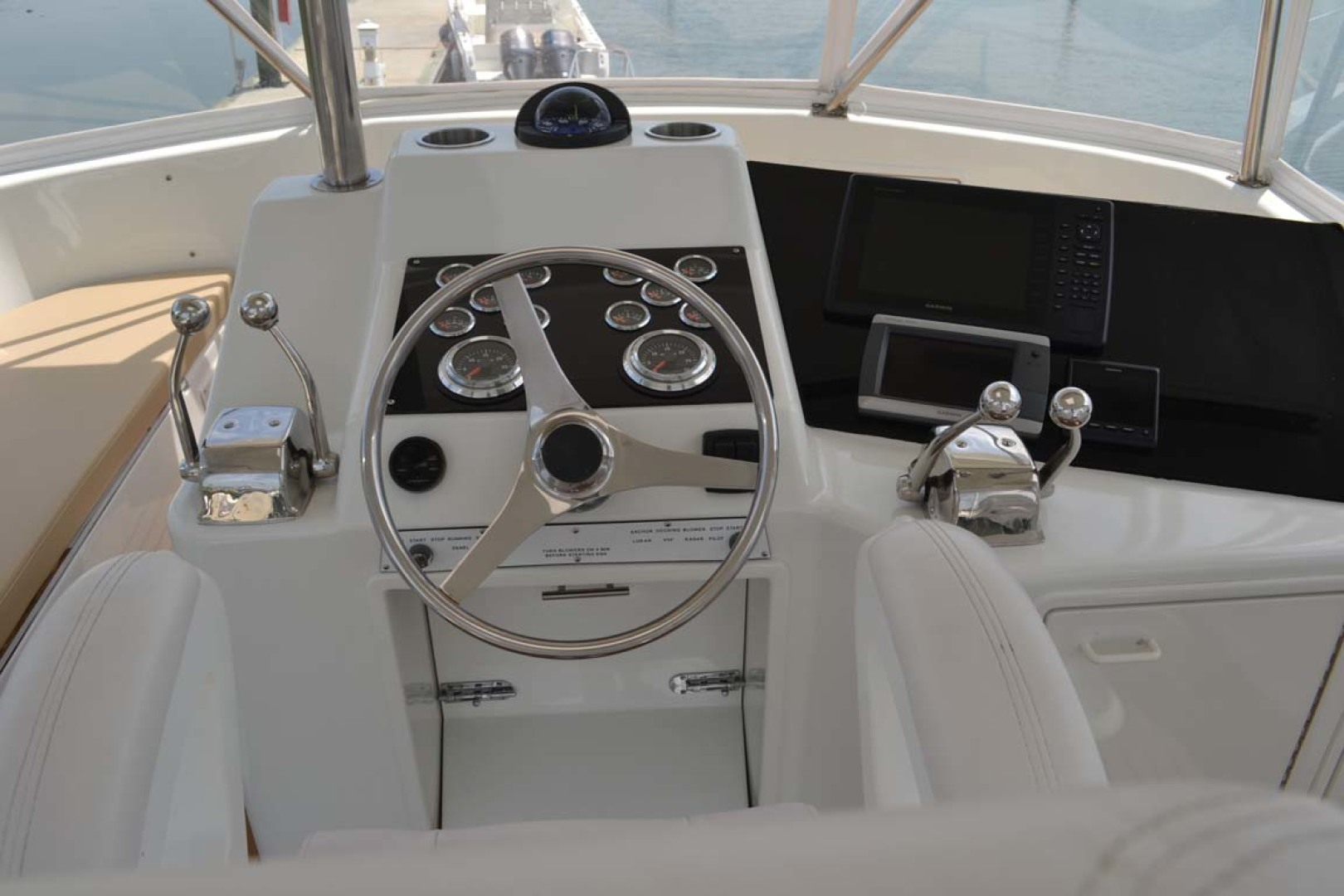 Ocean Yachts-Super Sport 1991-Reel Chaos St. Augustine-Florida-United States-Helm-1191663 | Thumbnail