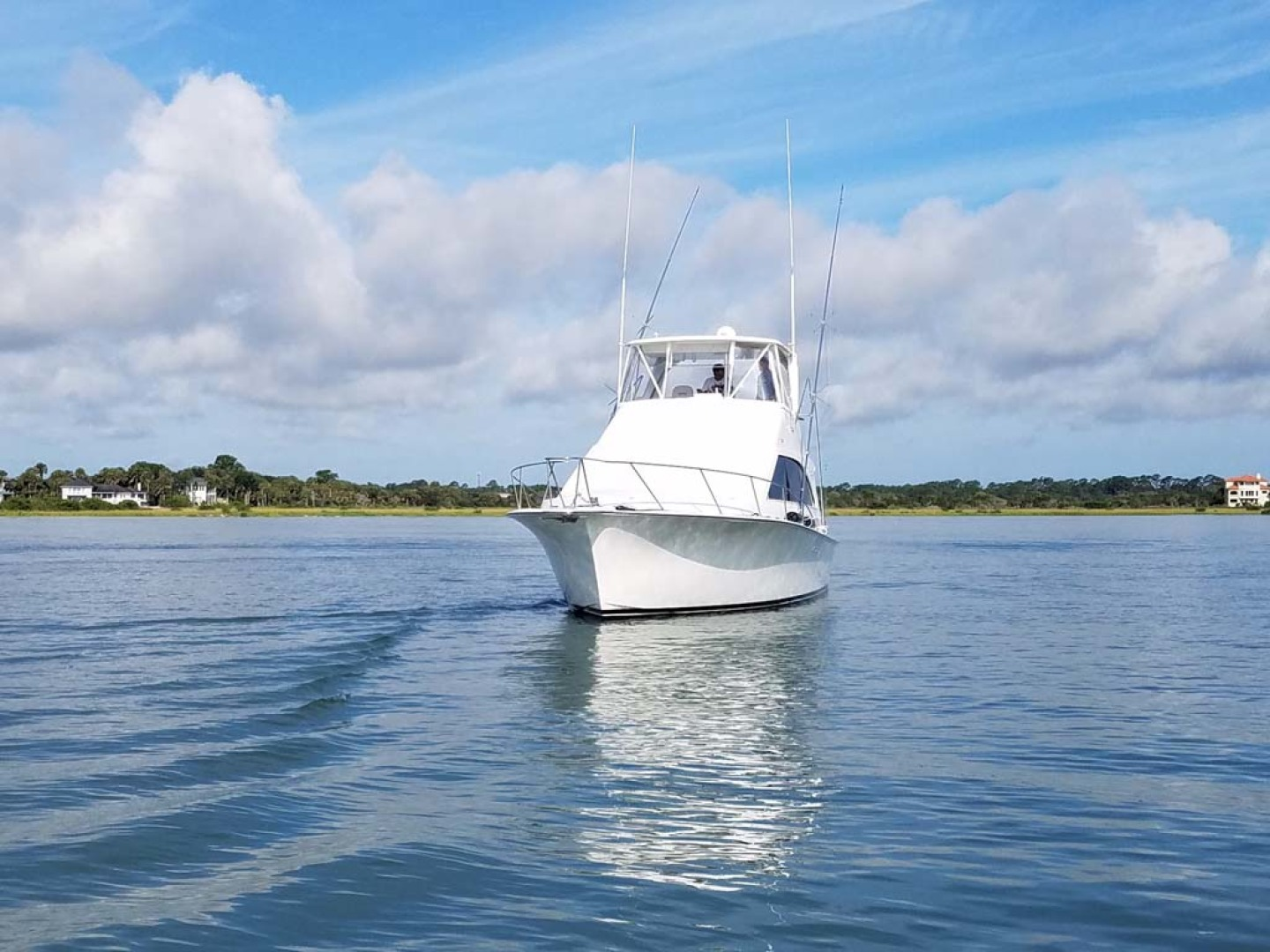 Ocean Yachts-Super Sport 1991-Reel Chaos St. Augustine-Florida-United States-Bow View-1196533 | Thumbnail