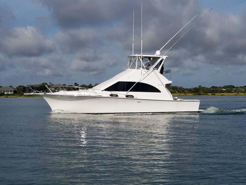 Ocean Yachts-Super Sport 1991-Reel Chaos St. Augustine-Florida-United States-Profile Closeup-1196529 | Thumbnail