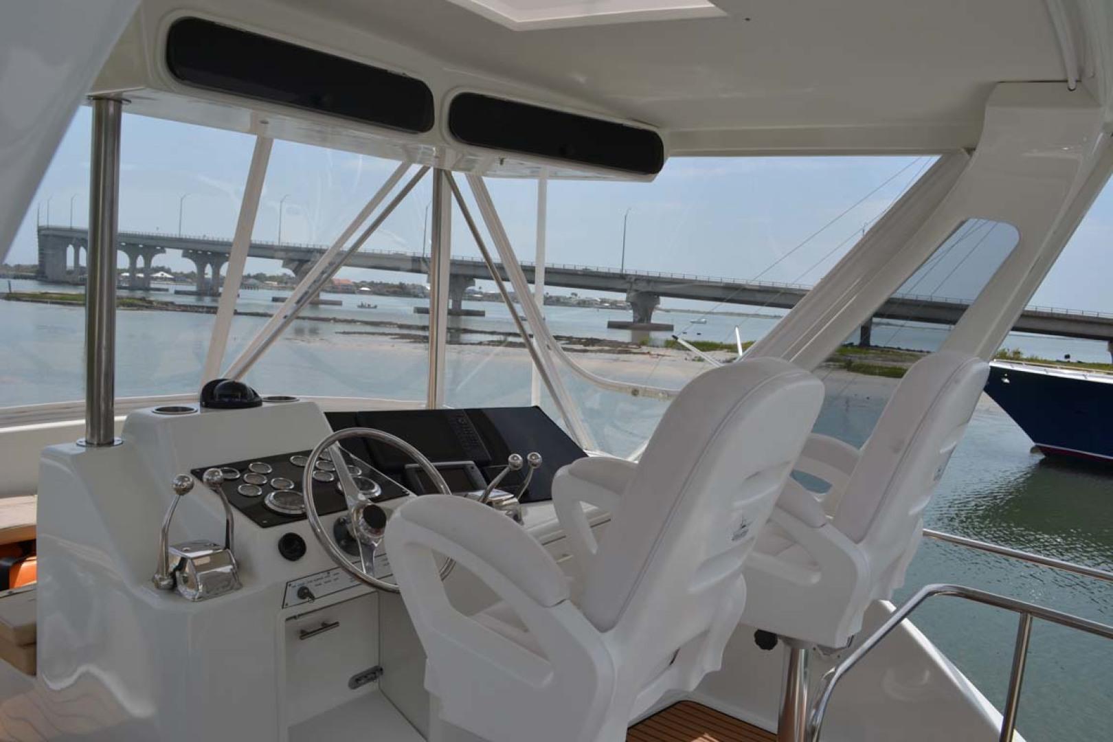 Ocean Yachts-Super Sport 1991-Reel Chaos St. Augustine-Florida-United States-Flybridge Helm-1191665 | Thumbnail