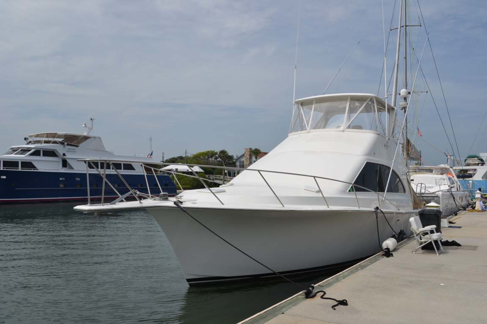 Ocean Yachts-Super Sport 1991-Reel Chaos St. Augustine-Florida-United States-Port Bow-1191662 | Thumbnail