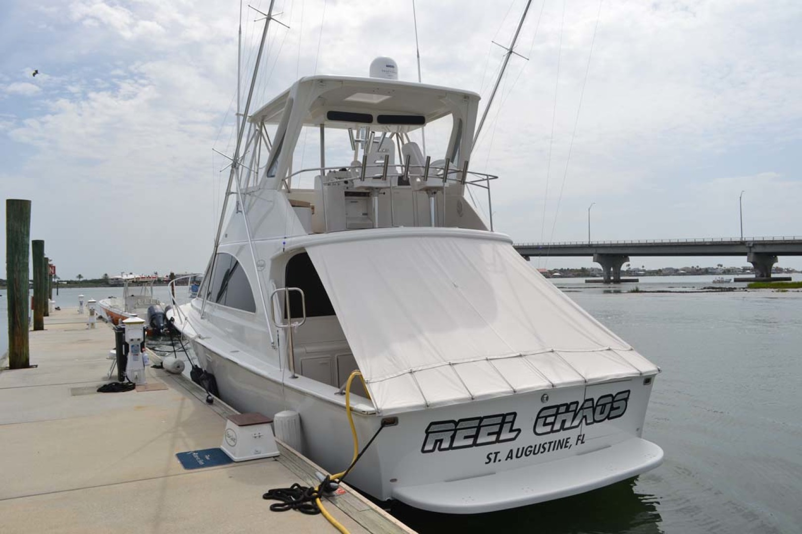 Ocean Yachts-Super Sport 1991-Reel Chaos St. Augustine-Florida-United States-Stern View-1191647 | Thumbnail