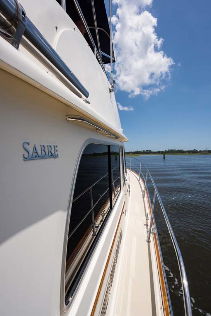Sabre-Flybridge 2010-Blue Moon Jacksonville-Florida-United States-Starboard Side Deck-1193532   Thumbnail