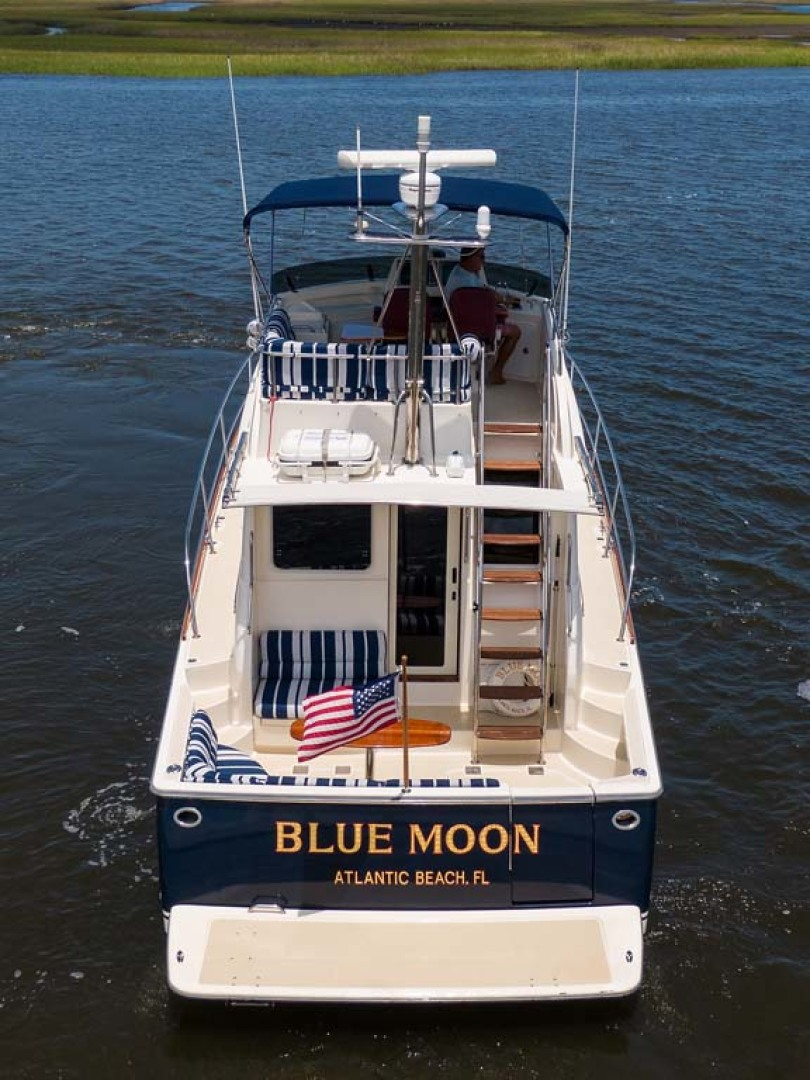 Sabre-Flybridge 2010-Blue Moon Jacksonville-Florida-United States-Stern View-1193558 | Thumbnail