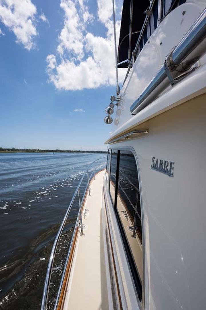 Sabre-Flybridge 2010-Blue Moon Jacksonville-Florida-United States-Port Side Deck-1193531   Thumbnail