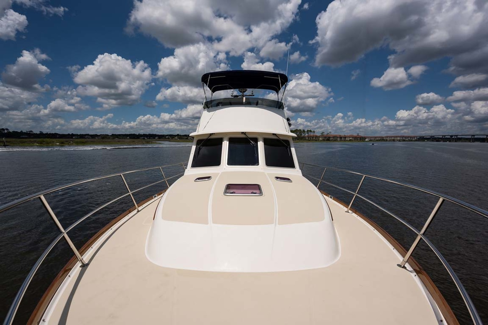 Sabre-Flybridge 2010-Blue Moon Jacksonville-Florida-United States-Foredeck Looking Aft-1193530 | Thumbnail