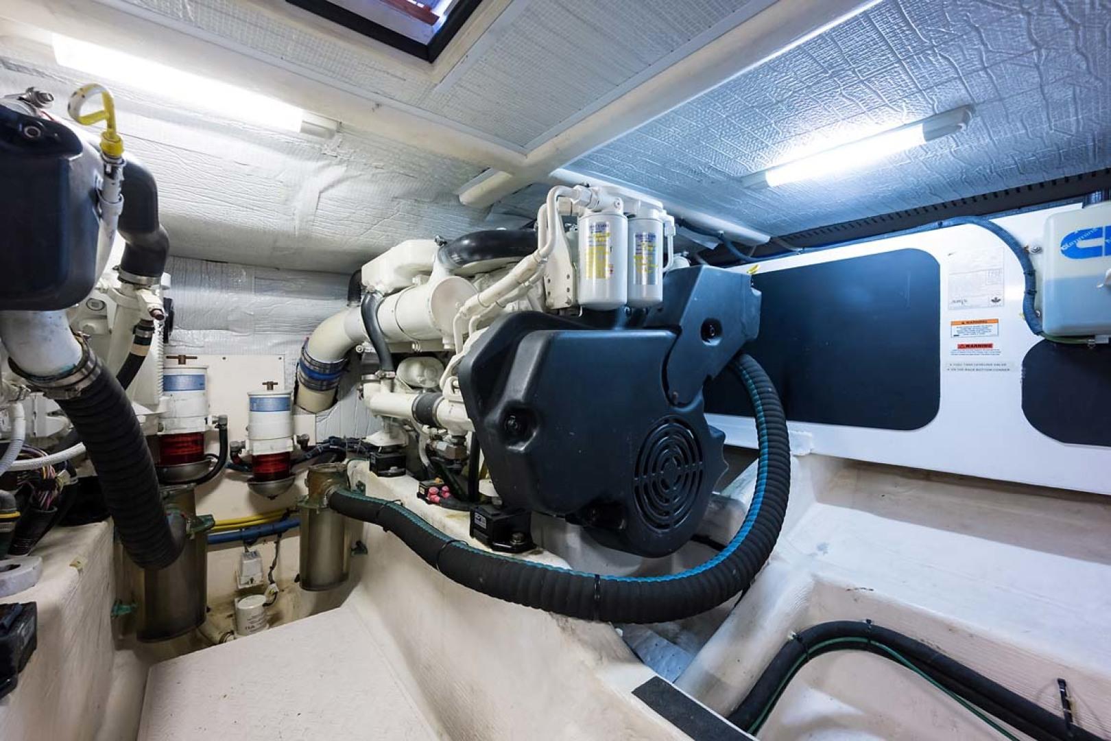 Sabre-Flybridge 2010-Blue Moon Jacksonville-Florida-United States-Engine Room-1193549   Thumbnail