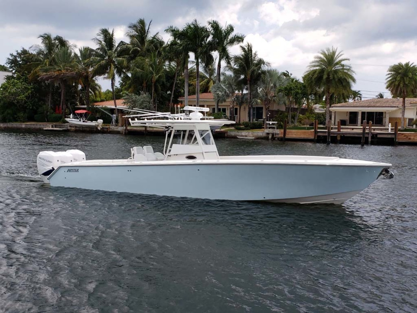Jupiter-Center Console 2008-Knot Well North Miami-Georgia-United States-Starboard Profile-1193627 | Thumbnail