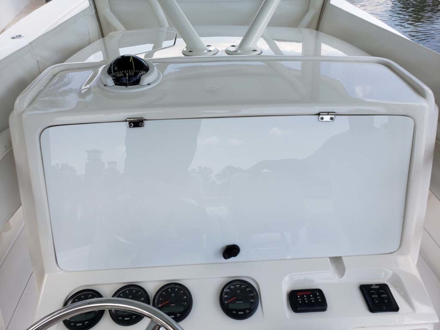 Jupiter-Center Console 2008-Knot Well North Miami-Georgia-United States-Helm Cover-1193653 | Thumbnail