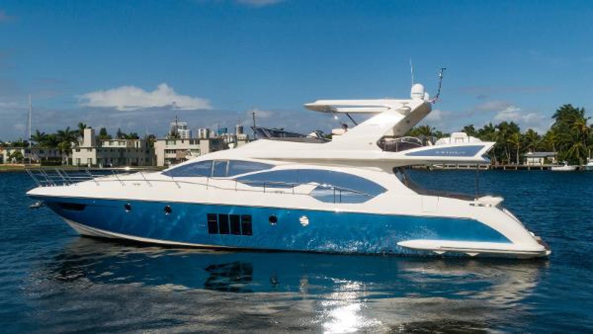 Azimut-Flybridge 2011 -Fort Lauderdale-Florida-United States-1195815 | Thumbnail