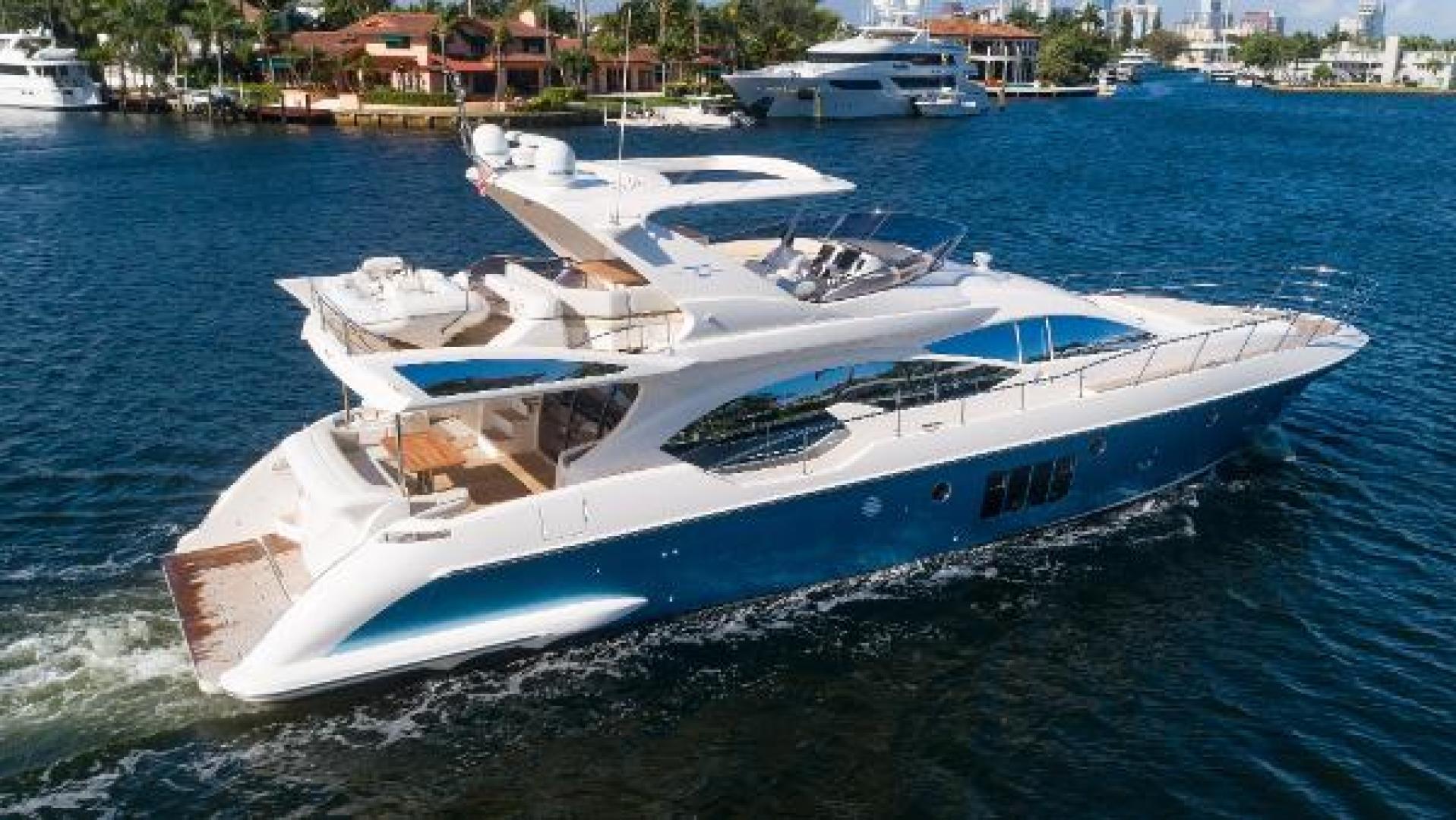 Azimut-Flybridge 2011 -Fort Lauderdale-Florida-United States-1195816 | Thumbnail