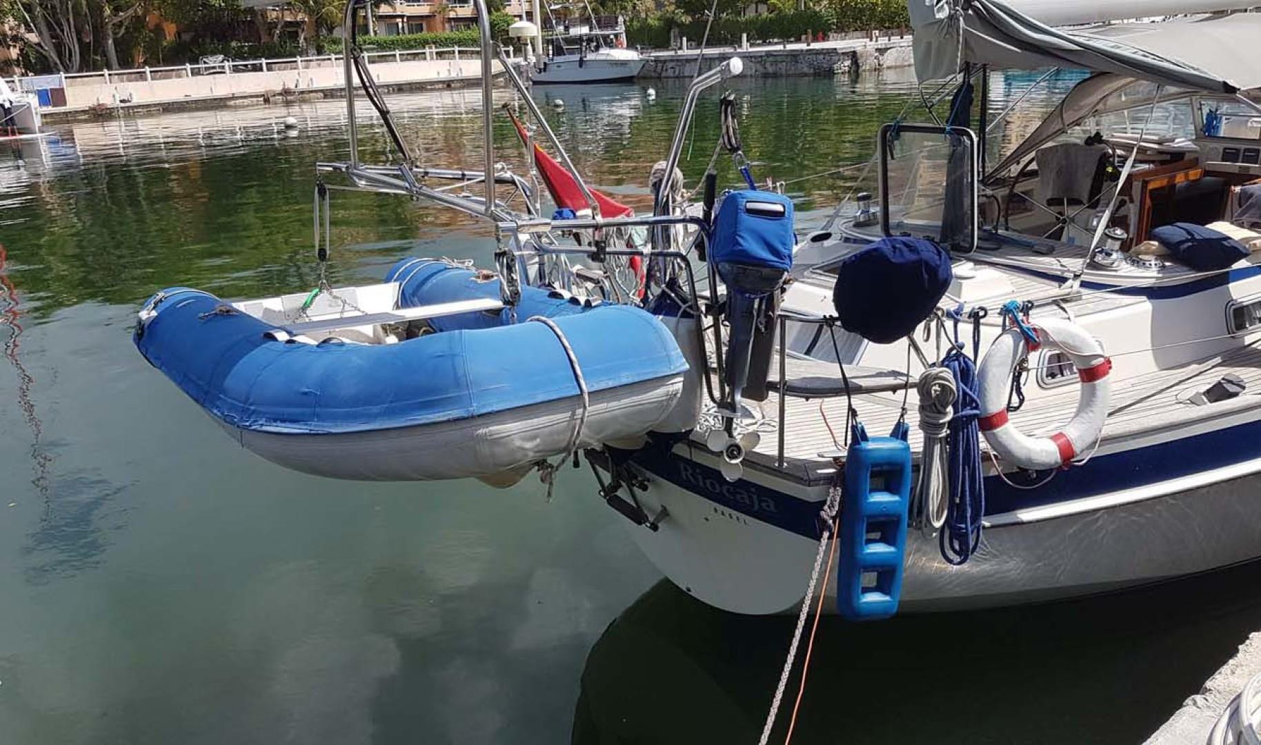Hallberg-Rassy-42F MK I 1994-Riocaja Puerto Aventuras, Cancun-Mexico-Dinghy-1199089 | Thumbnail
