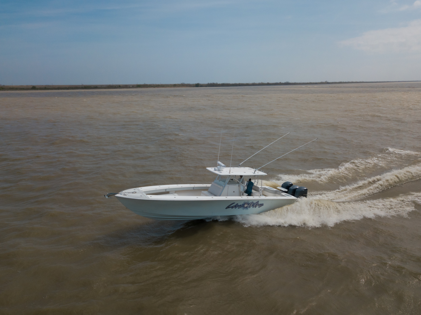 40' SeaHunter 2010  Live Wire