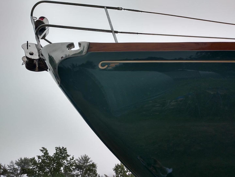 Hinckley-Bermuda 40 MK III Sloop 1979-Evensong Camden-Maine-United States-Fresh Paint  Port Bow Hull-1429016 | Thumbnail
