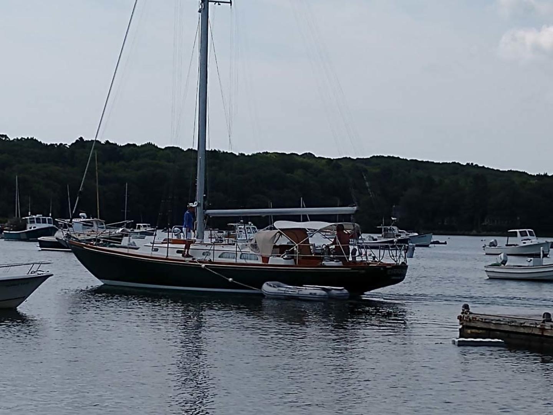 Hinckley-Bermuda 40 MK III Sloop 1979-Evensong Camden-Maine-United States-Main Profile-1199420 | Thumbnail