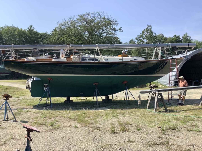 Hinckley-Bermuda 40 MK III Sloop 1979-Evensong Camden-Maine-United States-Underwater Profile-1200196 | Thumbnail