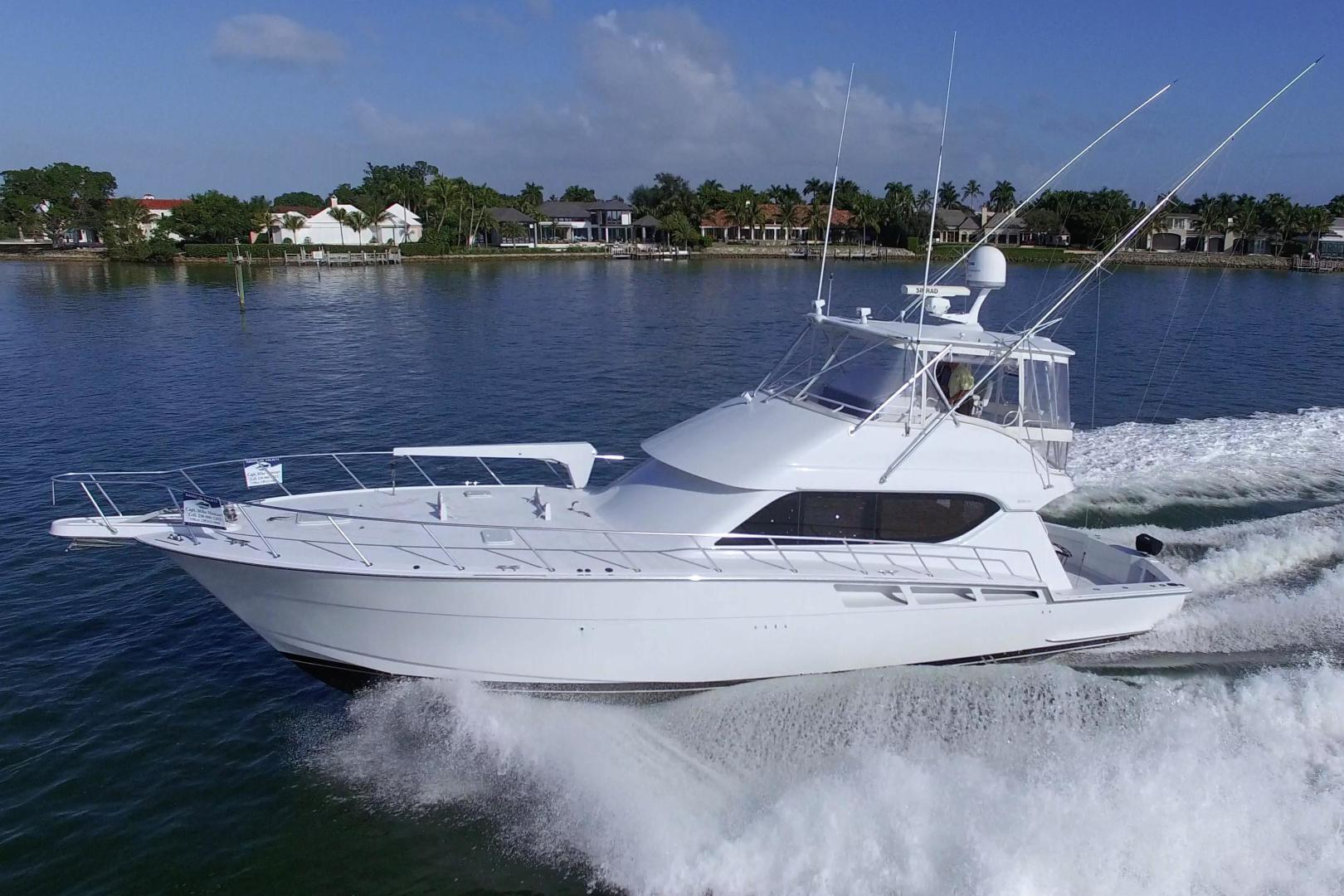 Picture Of: 55' Hatteras 55 Convertible 2002 Yacht For Sale | 1 of 88