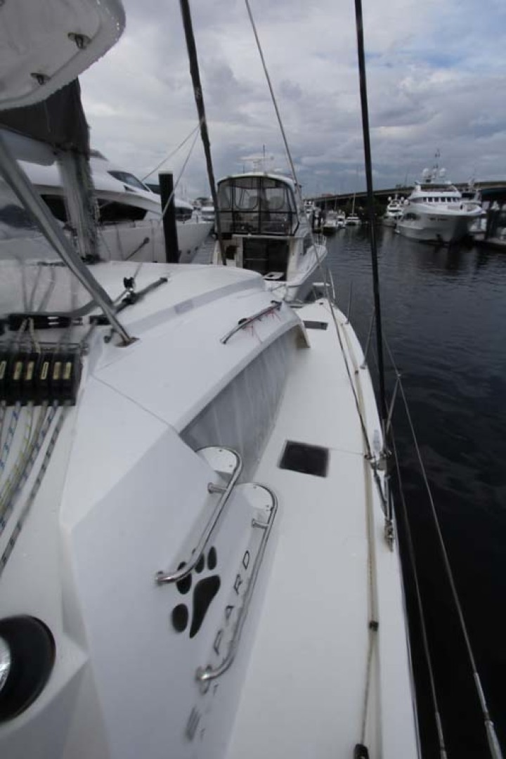 Leopard-40 2018-Wild Horse Ft Lauderdale-Florida-United States-Starboard Sidedeck-1231472 | Thumbnail