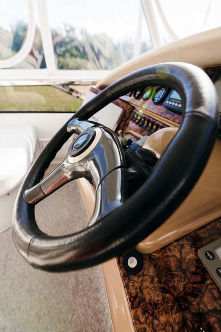 Marquis-Flybridge Motor Yacht 2004-Sandy Island Palm Coast-Florida-United States-Flybridge Helm-1247934 | Thumbnail