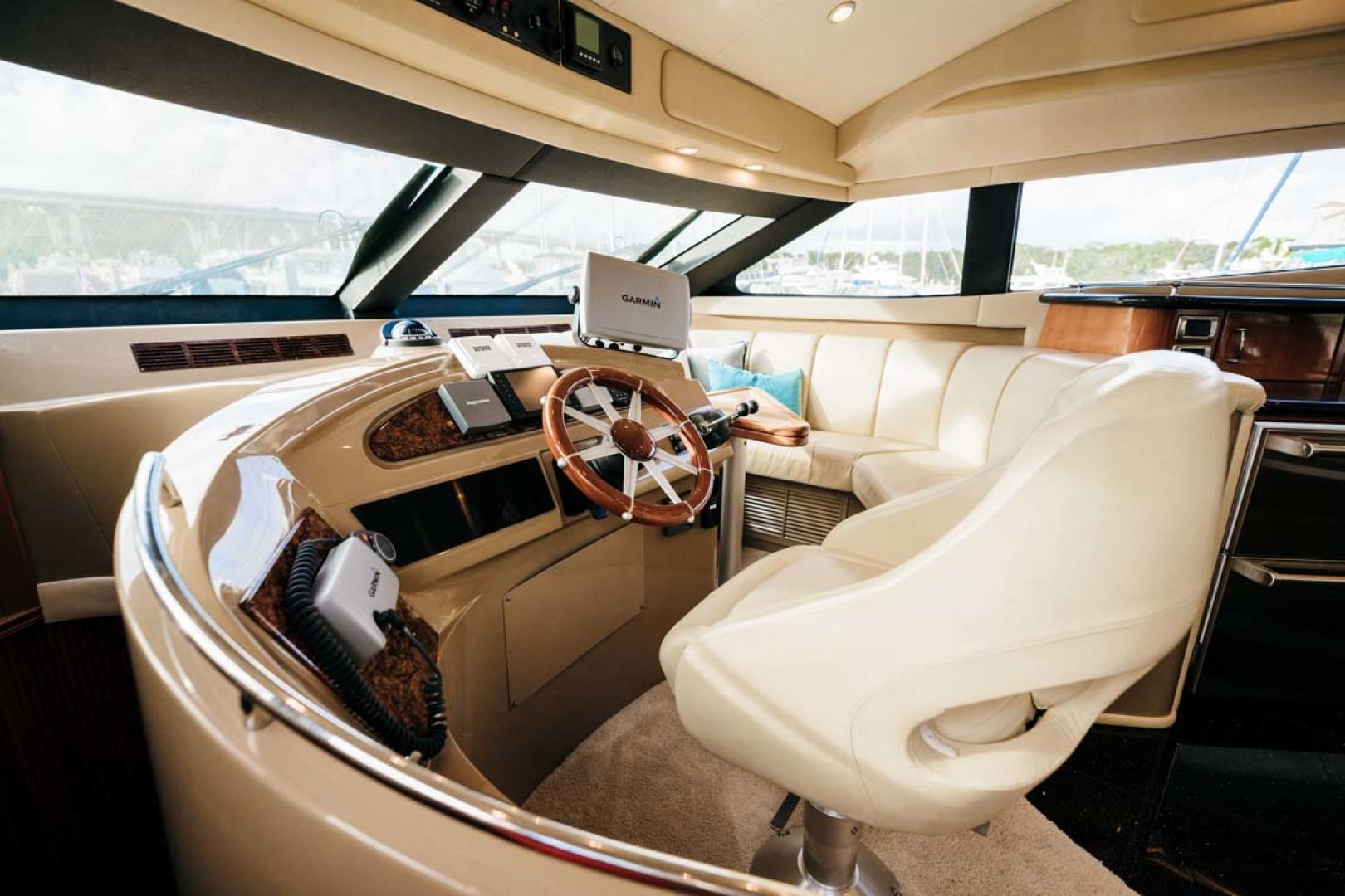 Marquis-Flybridge Motor Yacht 2004-Sandy Island Palm Coast-Florida-United States-Lower Helm-1247876 | Thumbnail