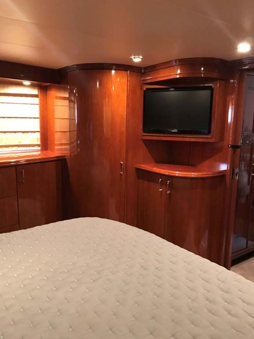 Marquis-Flybridge Motor Yacht 2004-Sandy Island Palm Coast-Florida-United States-Master Stateroom TV-1202531 | Thumbnail