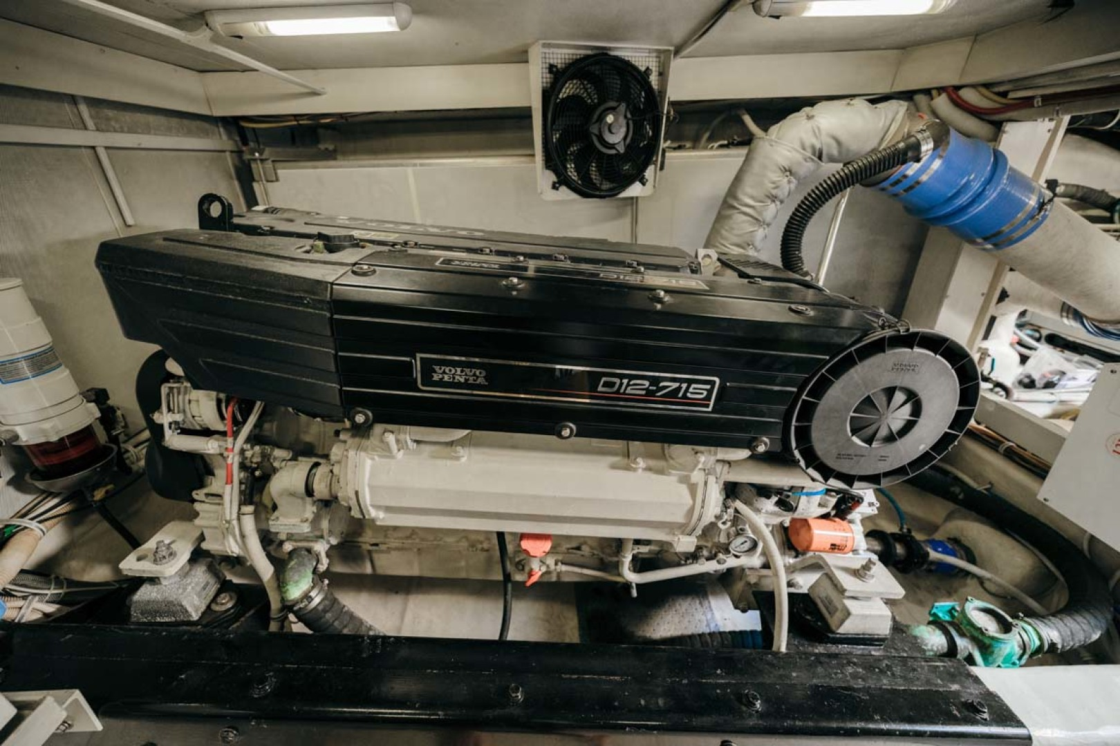 Marquis-Flybridge Motor Yacht 2004-Sandy Island Palm Coast-Florida-United States-Engine Room-1247943 | Thumbnail