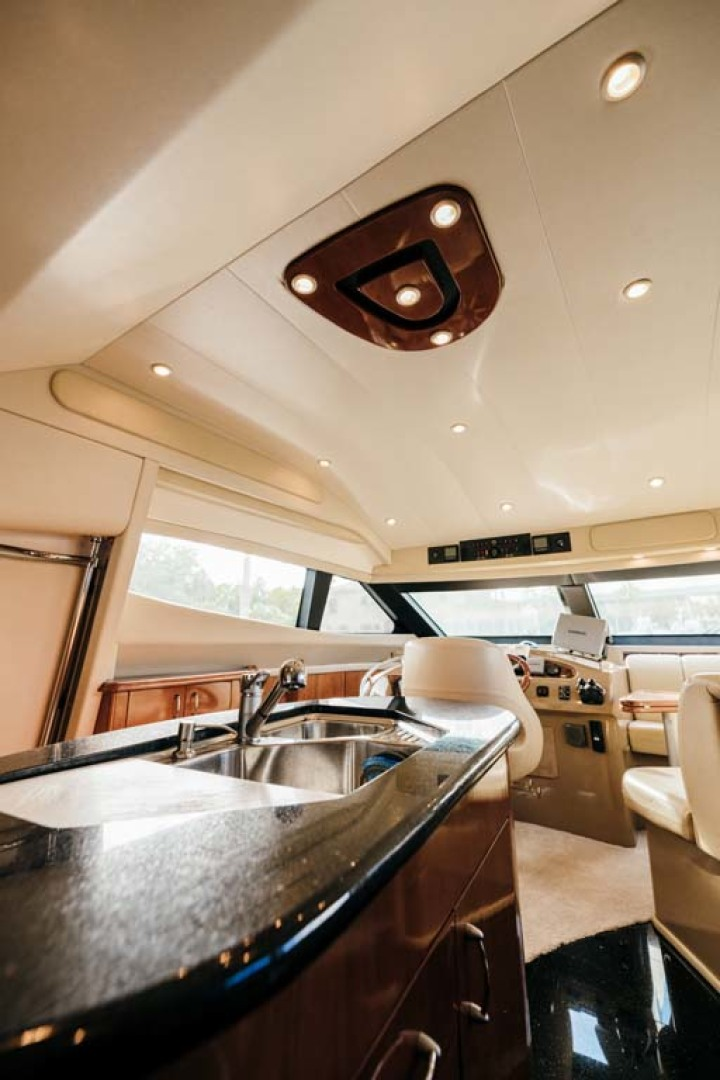 Marquis-Flybridge Motor Yacht 2004-Sandy Island Palm Coast-Florida-United States-Galley Double Sink-1247869 | Thumbnail