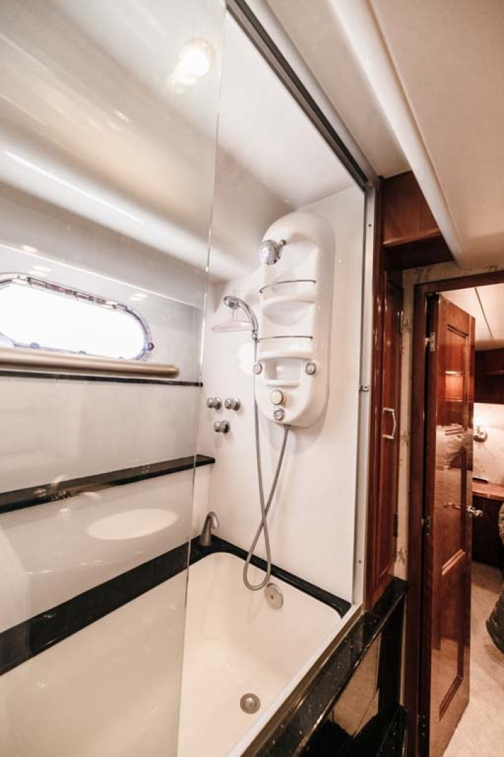 Marquis-Flybridge Motor Yacht 2004-Sandy Island Palm Coast-Florida-United States-MSR Head  Shower-1247897 | Thumbnail