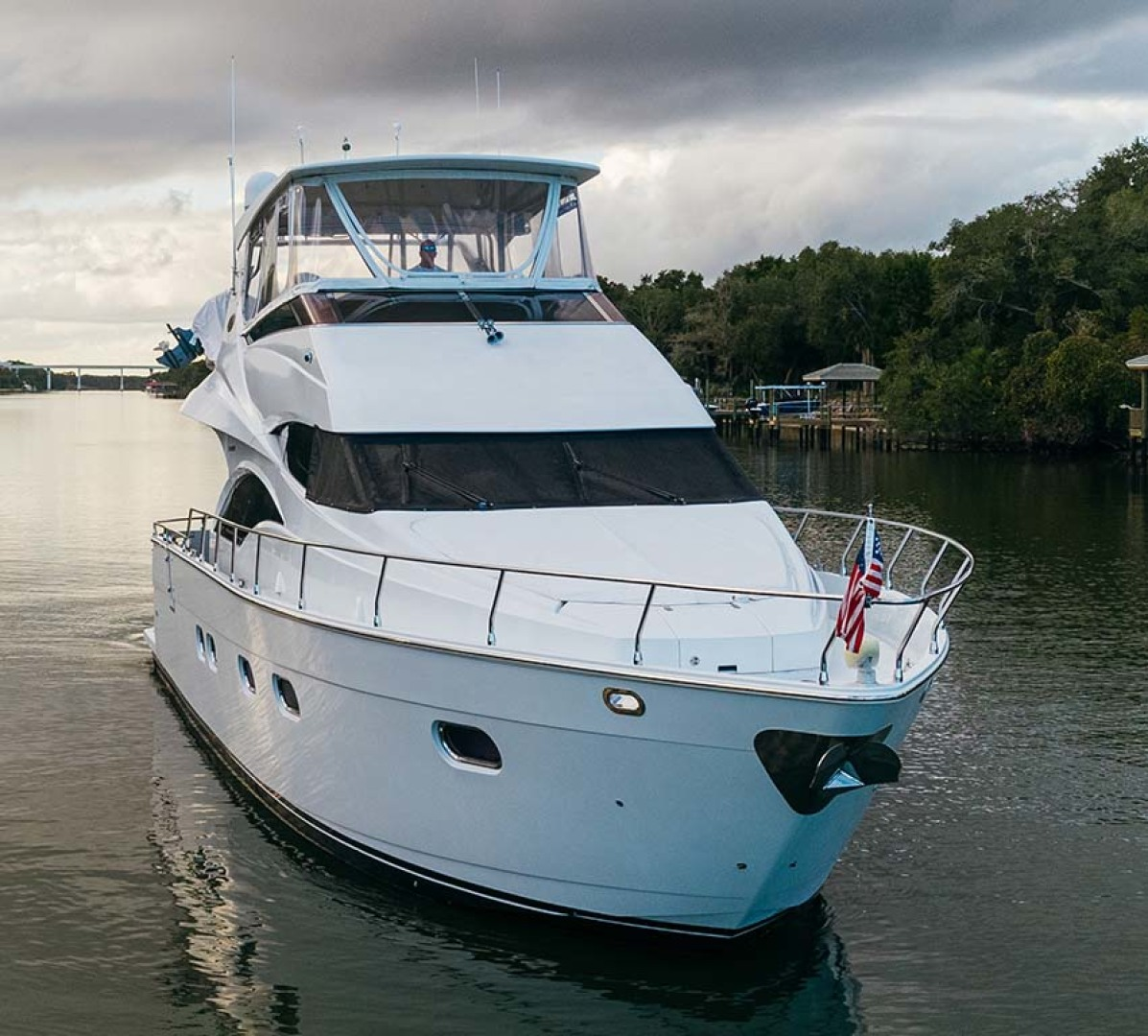 Marquis-Flybridge Motor Yacht 2004-Sandy Island Palm Coast-Florida-United States-Starboard Bow-1247846 | Thumbnail