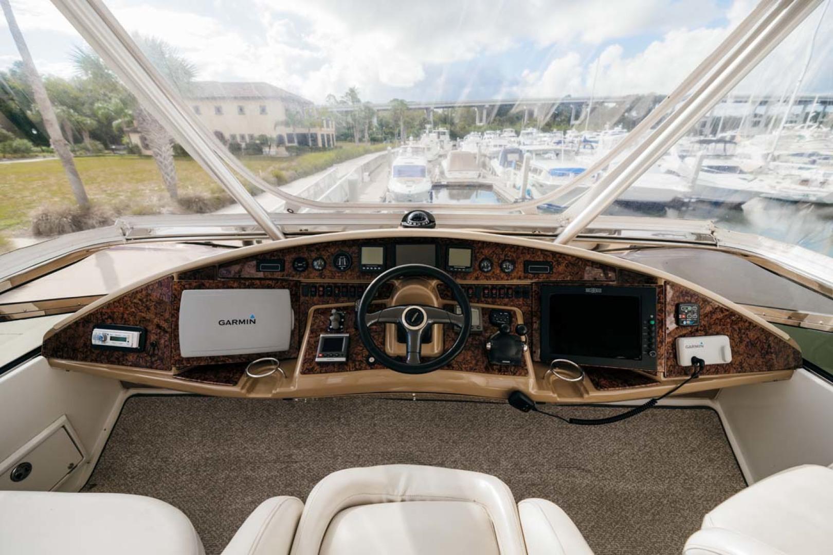 Marquis-Flybridge Motor Yacht 2004-Sandy Island Palm Coast-Florida-United States-Flybridge Helm-1247932 | Thumbnail