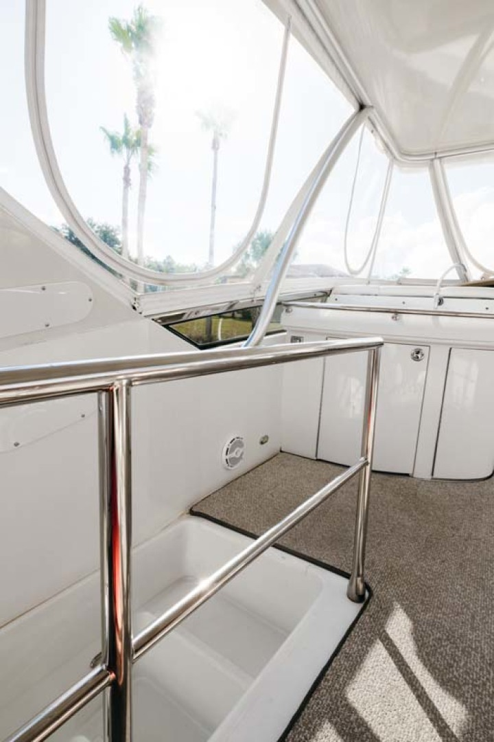 Marquis-Flybridge Motor Yacht 2004-Sandy Island Palm Coast-Florida-United States-Access Stairs Landing-1247924 | Thumbnail