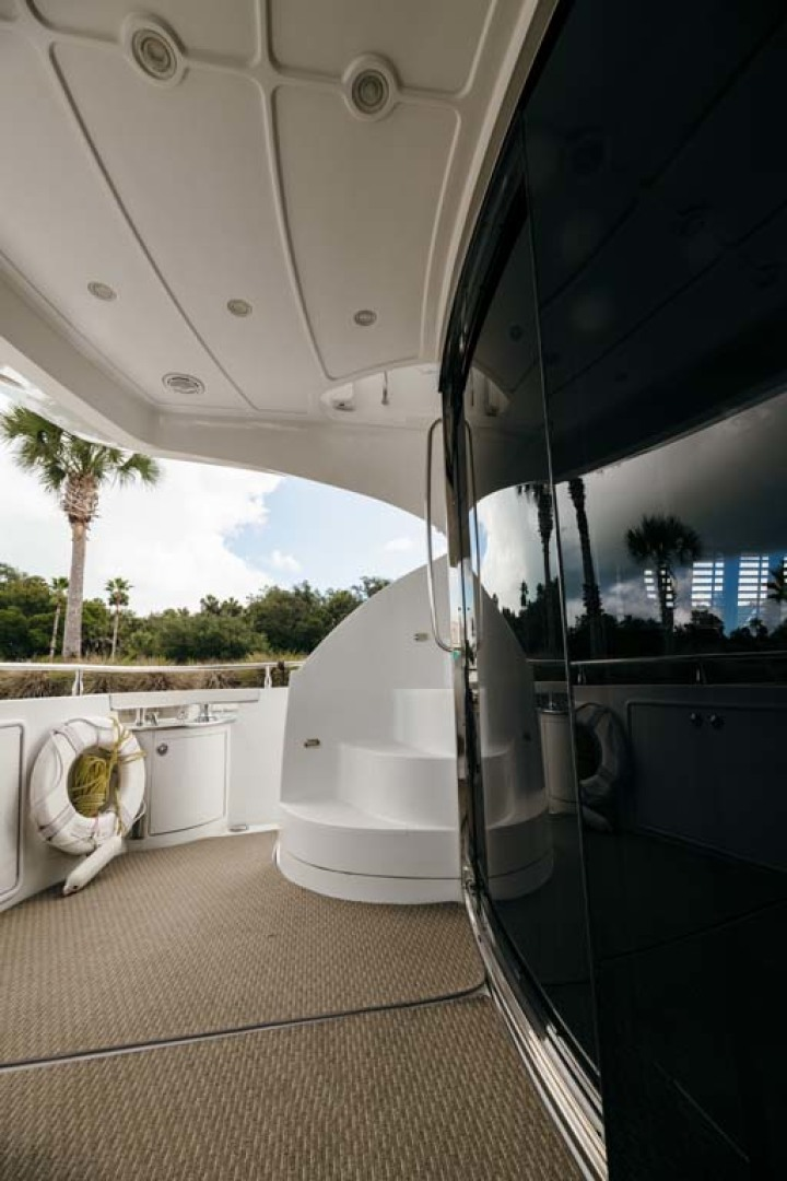Marquis-Flybridge Motor Yacht 2004-Sandy Island Palm Coast-Florida-United States-Aft Deck to Port-1247856 | Thumbnail