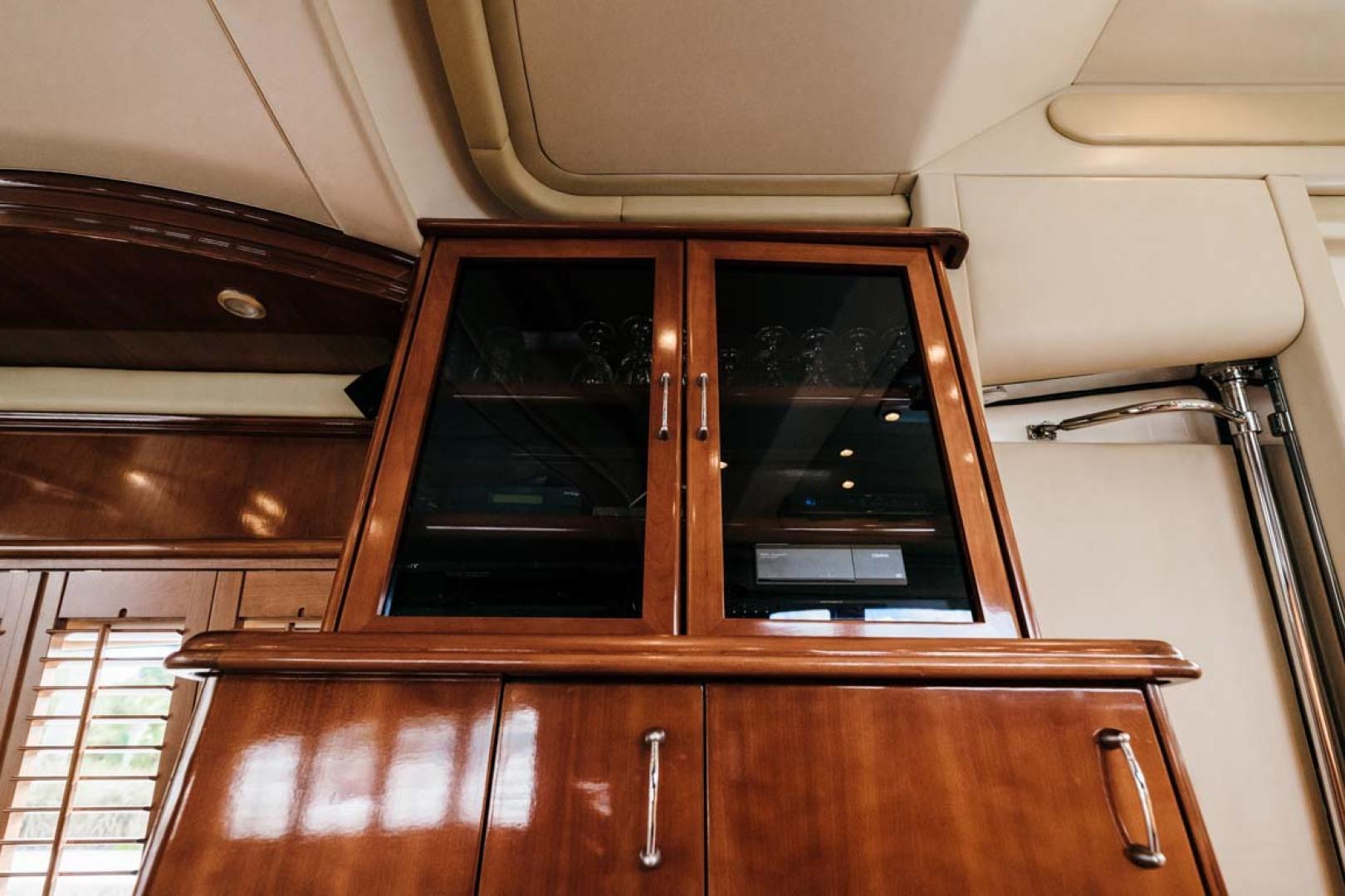 Marquis-Flybridge Motor Yacht 2004-Sandy Island Palm Coast-Florida-United States-Salon Cabinet-1247863 | Thumbnail