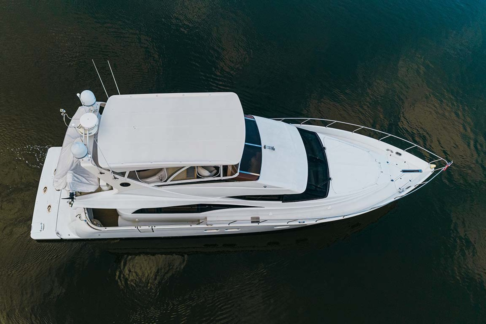 Marquis-Flybridge Motor Yacht 2004-Sandy Island Palm Coast-Florida-United States-Aerial View-1247850 | Thumbnail