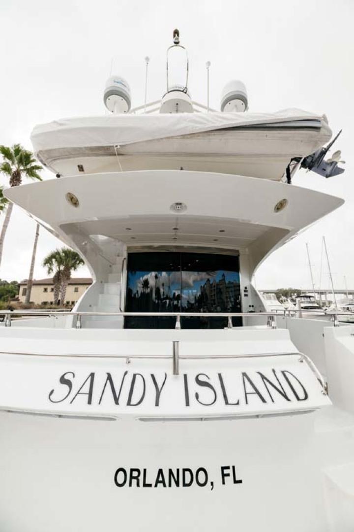 Marquis-Flybridge Motor Yacht 2004-Sandy Island Palm Coast-Florida-United States-Stern-1247919 | Thumbnail
