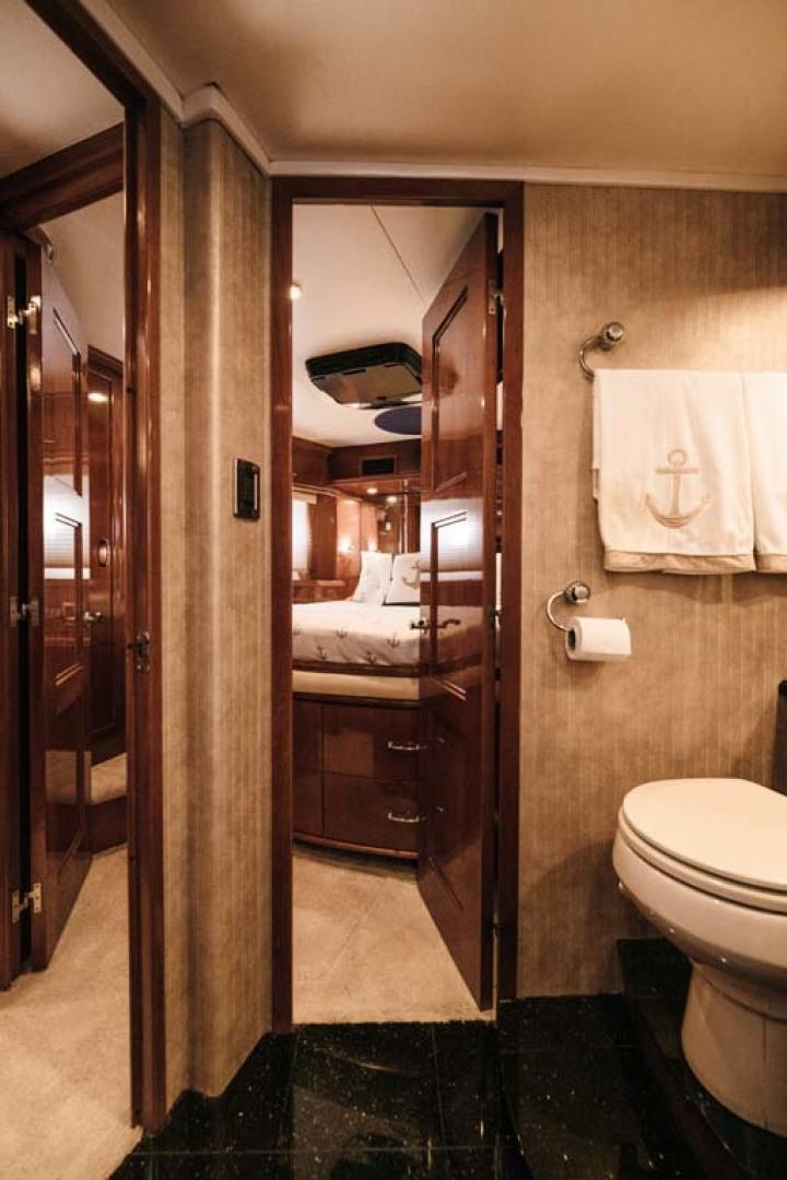 Marquis-Flybridge Motor Yacht 2004-Sandy Island Palm Coast-Florida-United States-MSR Head-1247896 | Thumbnail