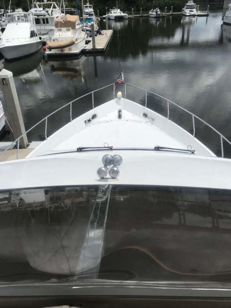 Marquis-Flybridge Motor Yacht 2004-Sandy Island Palm Coast-Florida-United States-Foredeck & Bow  from Flybridge-1202539 | Thumbnail