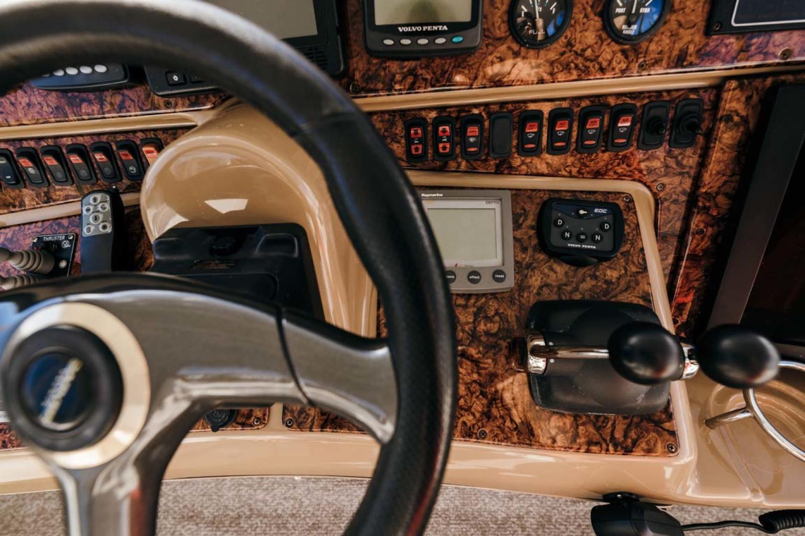Marquis-Flybridge Motor Yacht 2004-Sandy Island Palm Coast-Florida-United States-Flybridge Helm-1247935 | Thumbnail
