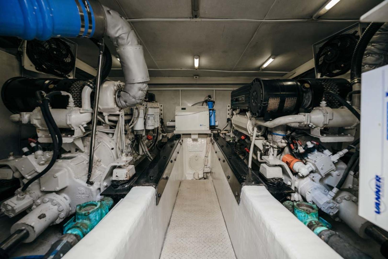 Marquis-Flybridge Motor Yacht 2004-Sandy Island Palm Coast-Florida-United States-Engine Room-1247940 | Thumbnail