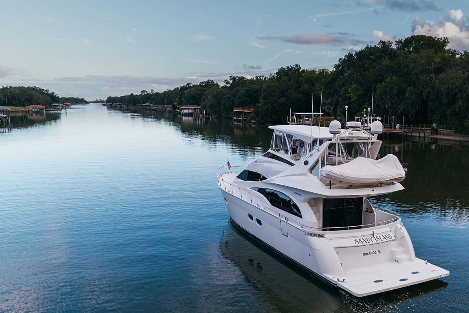 Marquis-Flybridge Motor Yacht 2004-Sandy Island Palm Coast-Florida-United States-Underway-1247851 | Thumbnail