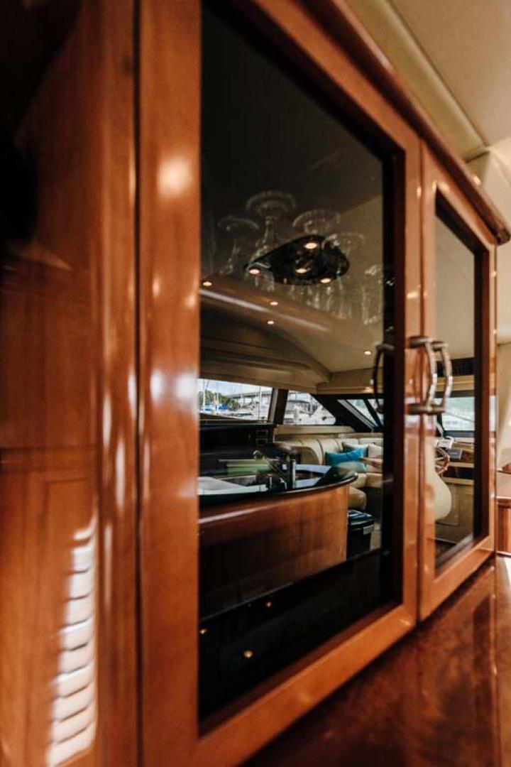 Marquis-Flybridge Motor Yacht 2004-Sandy Island Palm Coast-Florida-United States-Glassware, Entertainment Cabinet-1247864 | Thumbnail