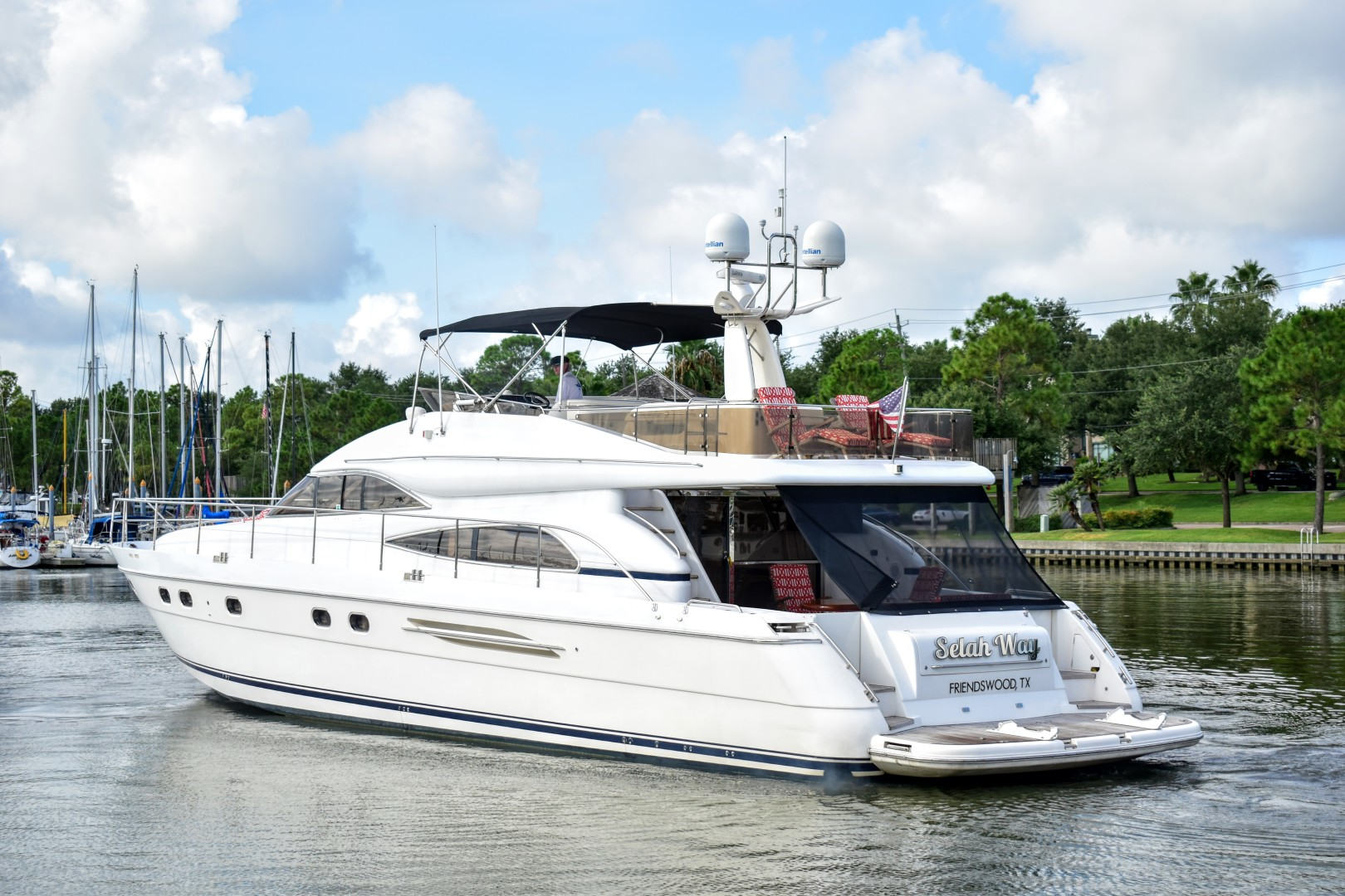 Viking Princess-65 Motor Yacht 2003-Selah Way Kemah-Texas-United States-Viking Princess Motor Yacht 2003 Selah Way-1203714 | Thumbnail