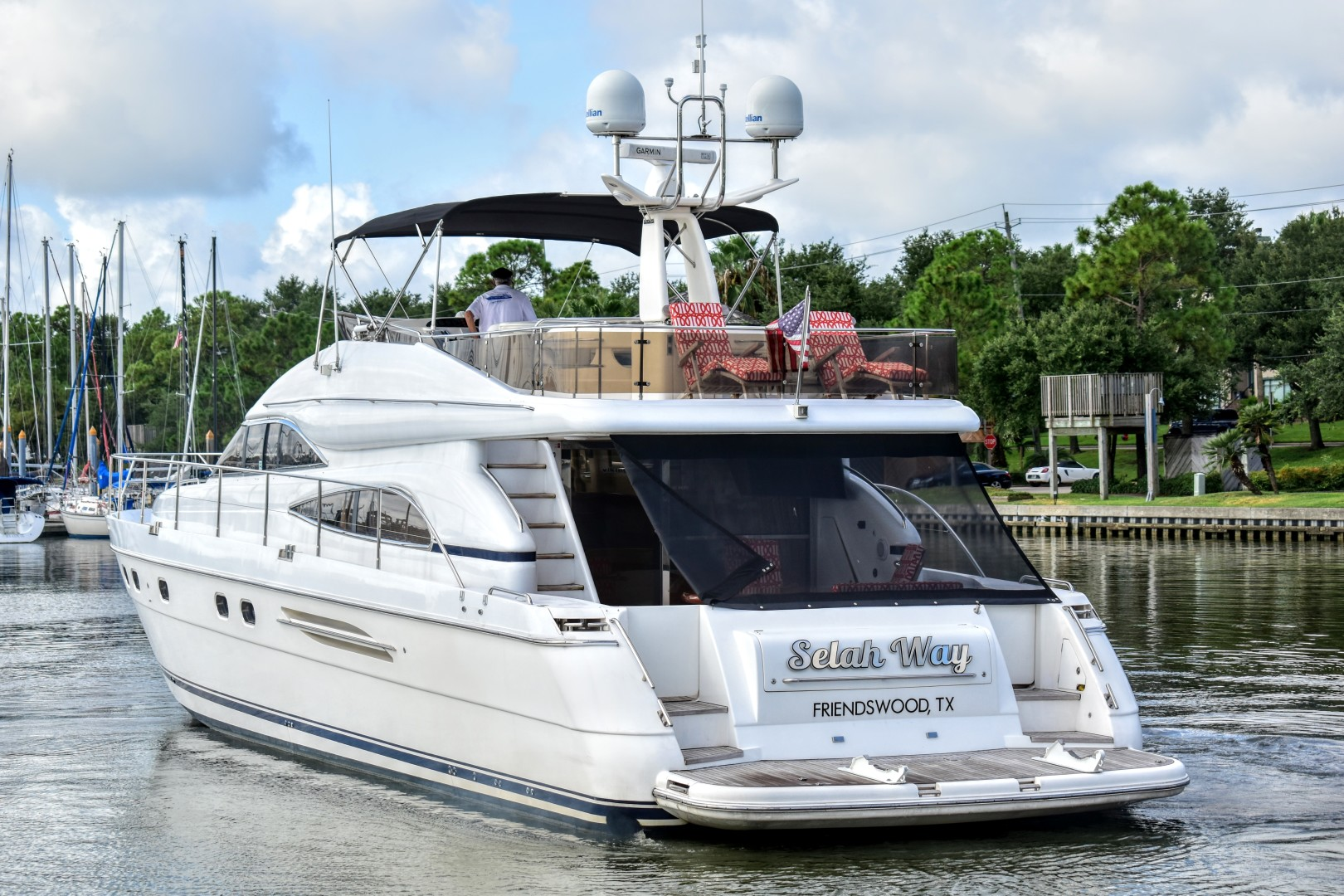 Viking Princess-65 Motor Yacht 2003-Selah Way Kemah-Texas-United States-Viking Princess Motor Yacht 2003 Selah Way-1203715 | Thumbnail
