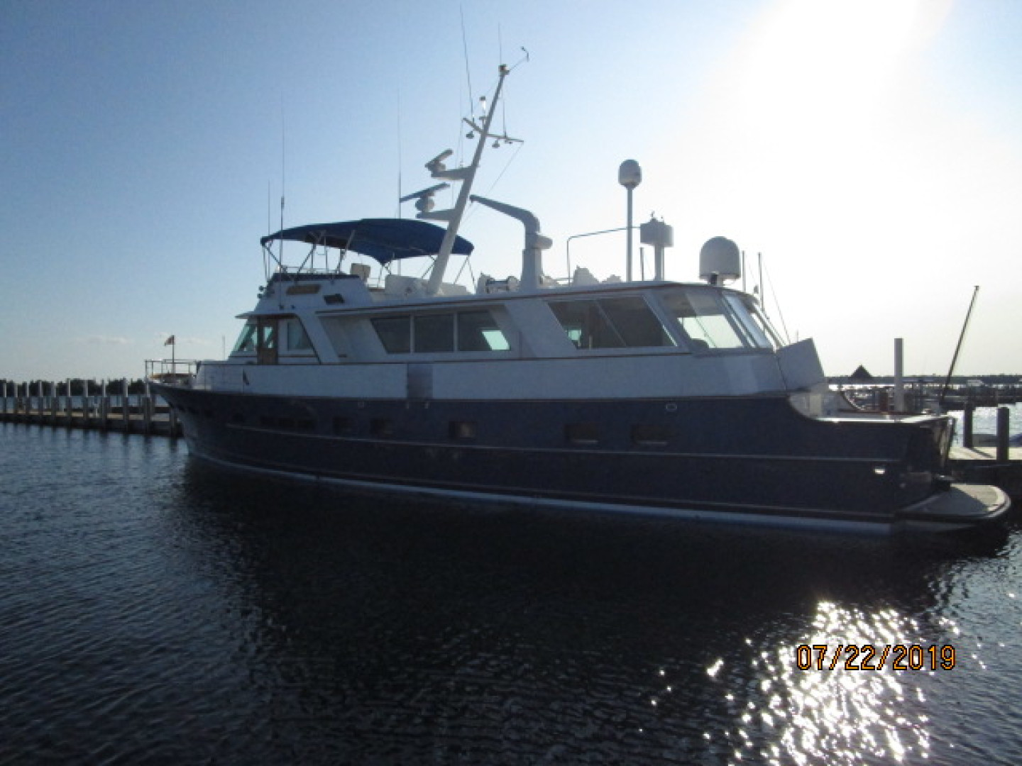 Picture Of: 75' Burger Flushdeck Motoryacht 1969 Yacht For Sale | 2 of 90