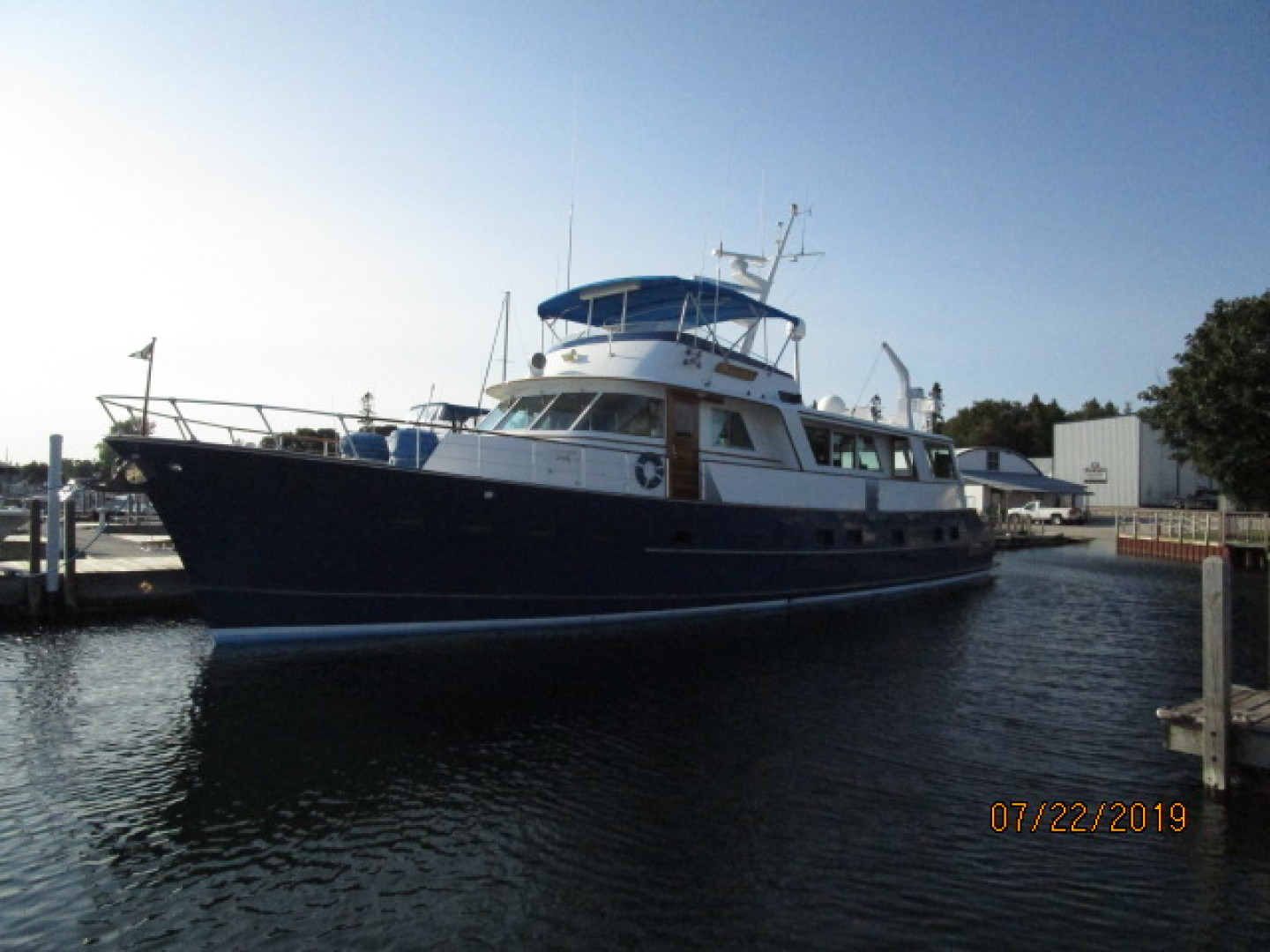 Picture Of: 75' Burger Flushdeck Motoryacht 1969 Yacht For Sale | 1 of 90