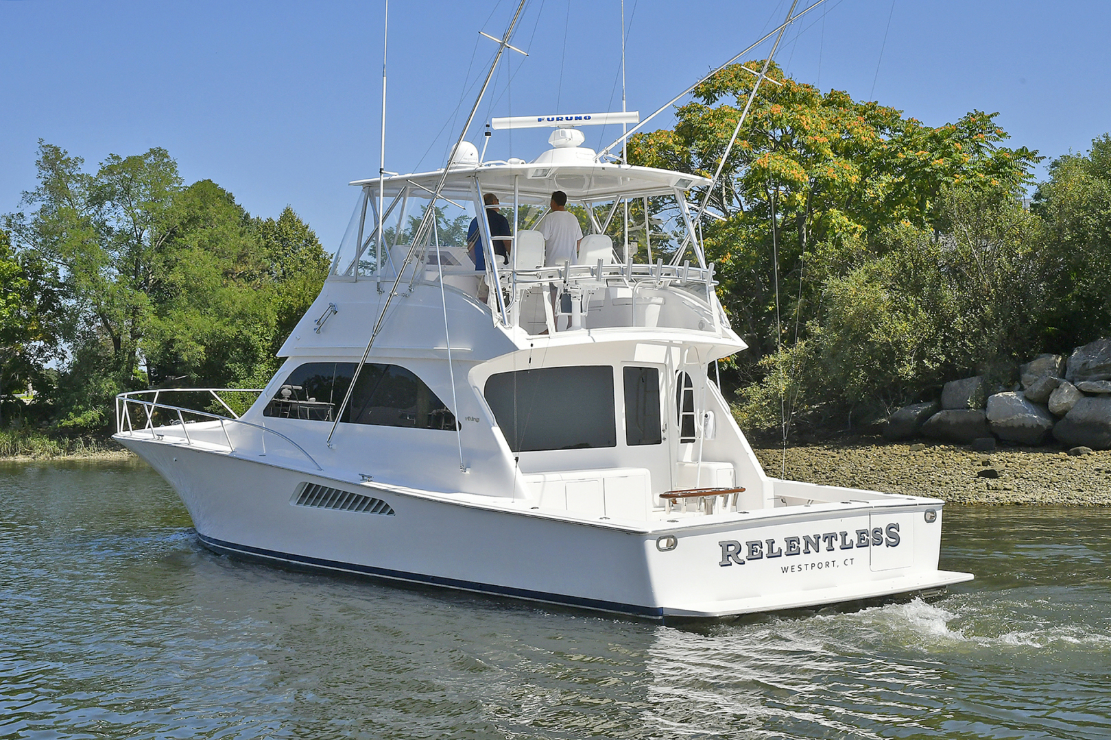 Picture Of: 52' Viking 52 Convertible 2006 Yacht For Sale | 2 of 48