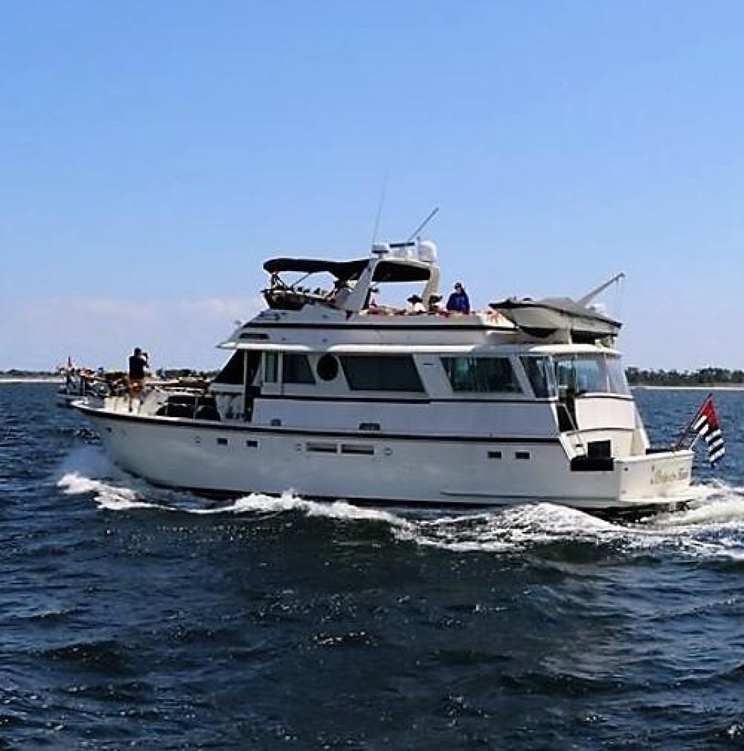 Picture Of: 63' Hatteras 1987 Yacht For Sale | 1 of 31